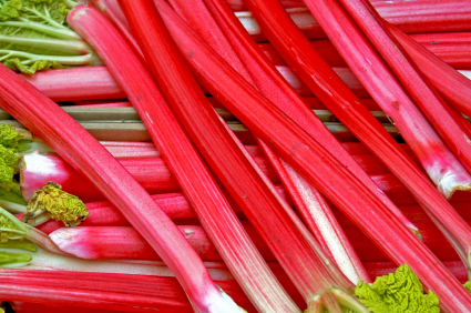 Rhubarb for Calcium with Karena Thek