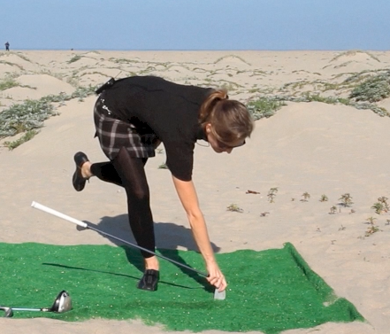 Balance with Rotation for Golf
