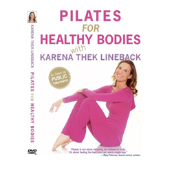 Pilates For Osteoporosis DVD with Karena Thek