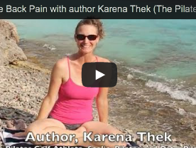 Reduce Back Pain with Pilates and Karena Thek