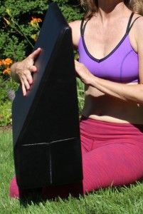 K2 Wedge for Back Pain Vertical View