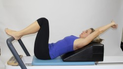 K2 supine on Reformer