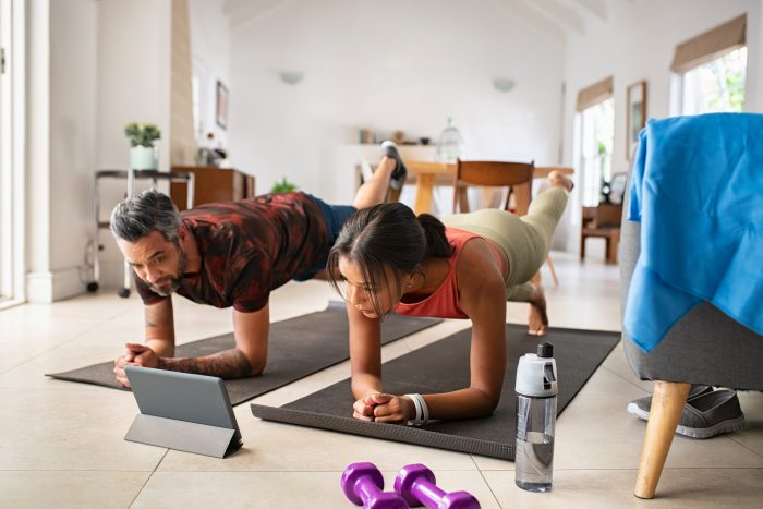 Online Scoliosis Exercise Man and Woman