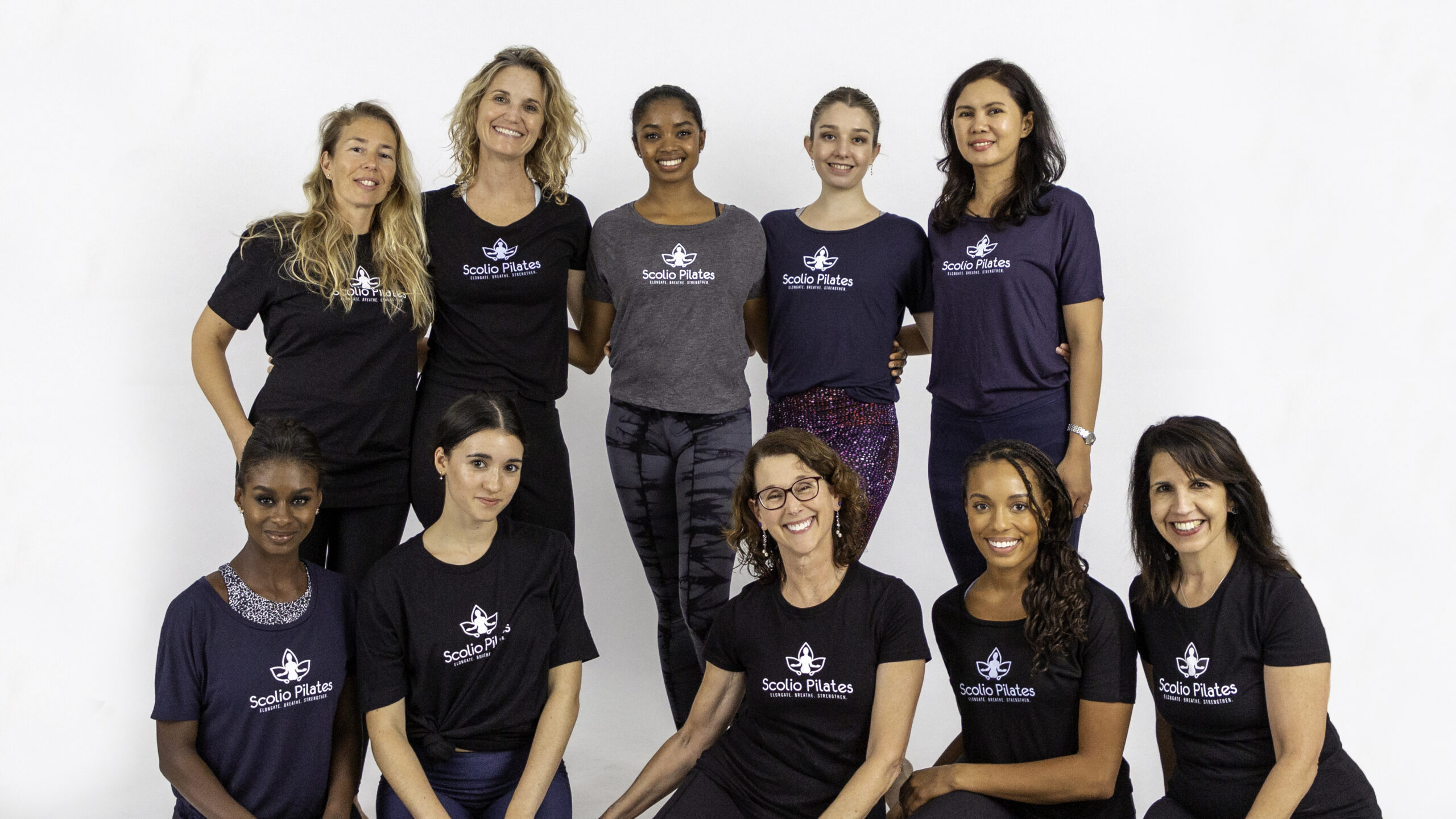 Scolio-Pilates clients and practitioners